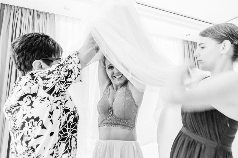 Rettig Ready, Hochzeit, Wedding, Elopement, Schwarzweiß, Braut, Brautkleid