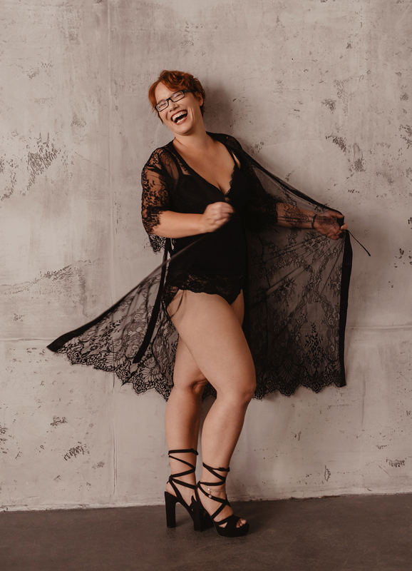 Boudoir, sensual, sinnlich, Dessous, empowerment, Kimono
